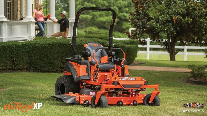 2017 Bad Boy Mowers 6100 (Vanguard) Outlaw XP in Terre Haute, Indiana