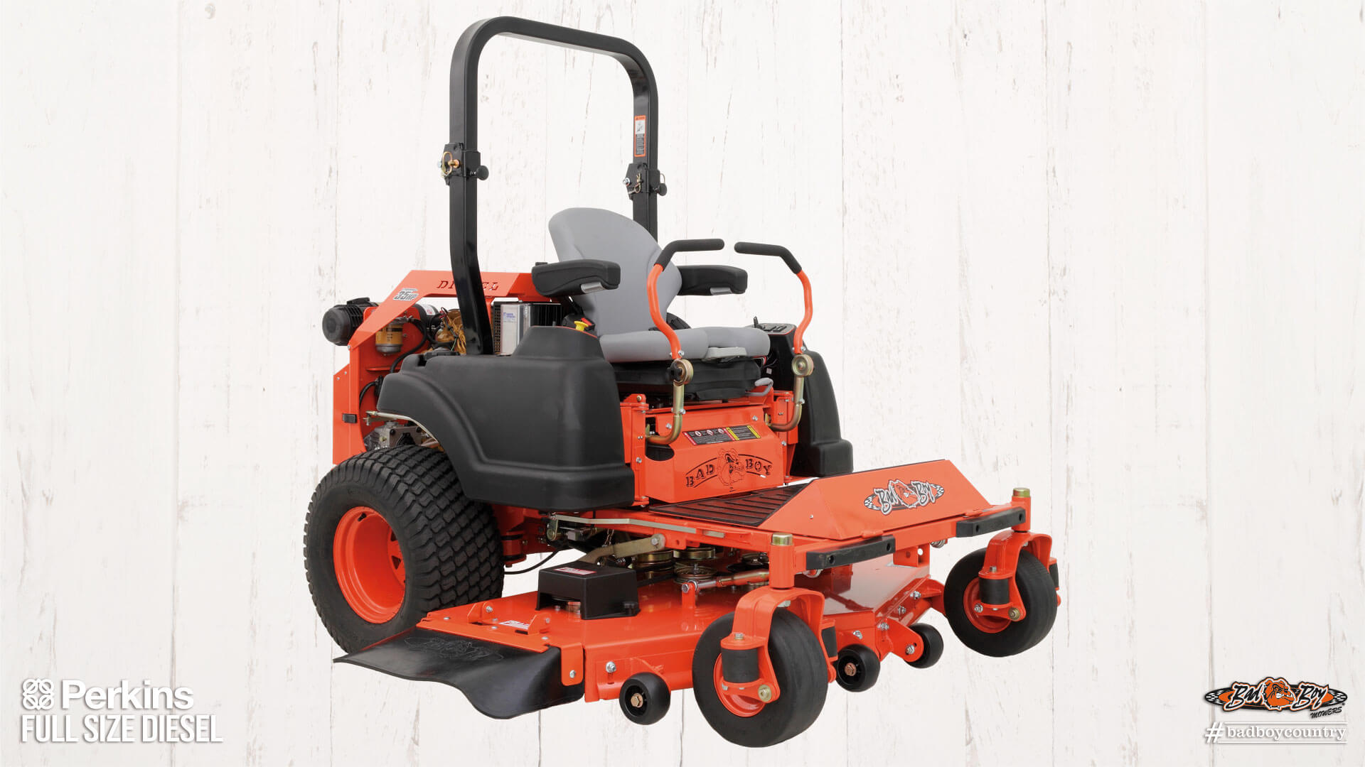 2017 Bad Boy Mowers 7200 Diesel Perkins in Eastland, Texas