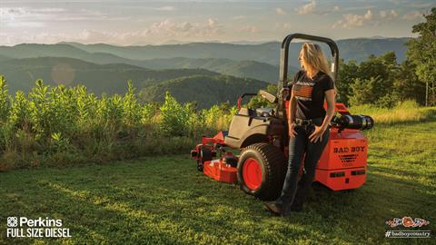 2017 Bad Boy Mowers 7200 Diesel Perkins in Mechanicsburg, Pennsylvania