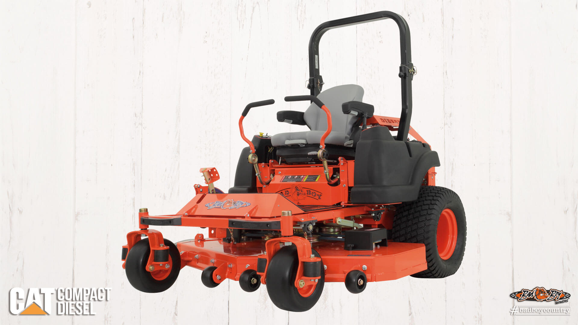 Lawn Mower Diesel : New bad boy mowers compact diesel lawn in