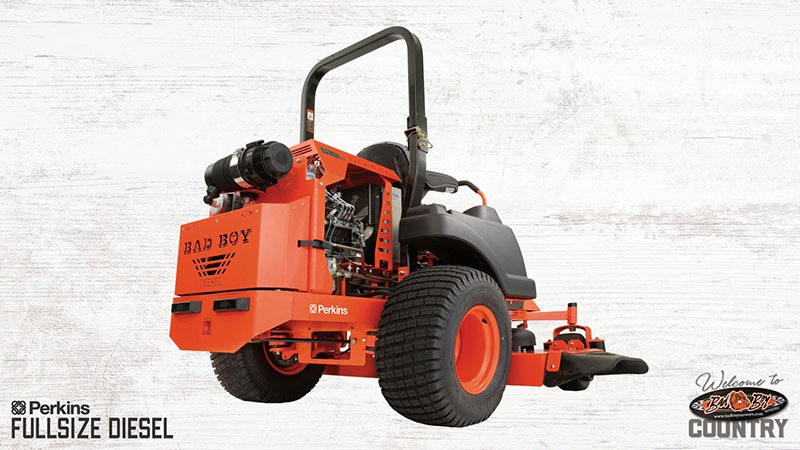 2018 Bad Boy Mowers 6100 Diesel Perkins in Stillwater, Oklahoma