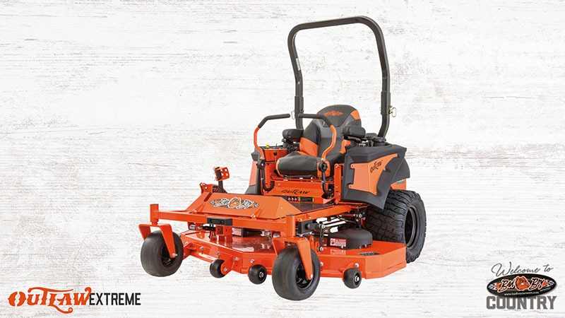2018 Bad Boy Mowers 7200 Vanguard Outlaw Extreme in Saucier, Mississippi