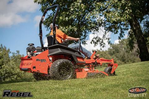 2020 Bad Boy Mowers Rebel 61 in. Kawasaki FX 35 hp in Evansville, Indiana - Photo 9