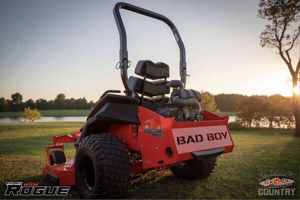 2020 Bad Boy Mowers Rogue 54 in. Kawasaki FX 27 hp in Terre Haute, Indiana - Photo 9