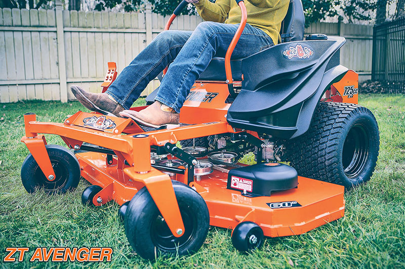 2021 Bad Boy Mowers ZT Avenger 54 in. Kohler 7000 725 cc in Rothschild, Wisconsin - Photo 4
