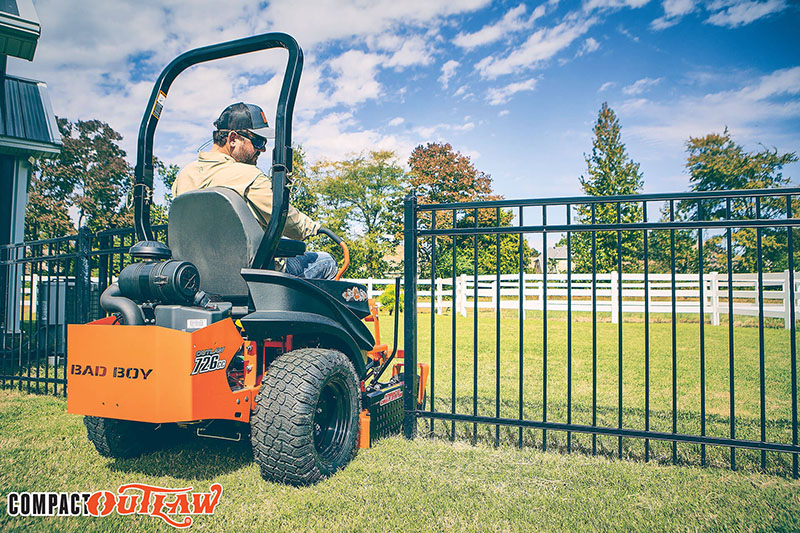 2021 Bad Boy Mowers Compact Outlaw 48 in. Kawasaki FX691 726 cc in Sandpoint, Idaho - Photo 7