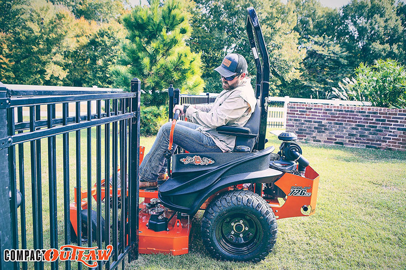 2021 Bad Boy Mowers Compact Outlaw 48 in. Kawasaki FX691 726 cc in Sandpoint, Idaho - Photo 8