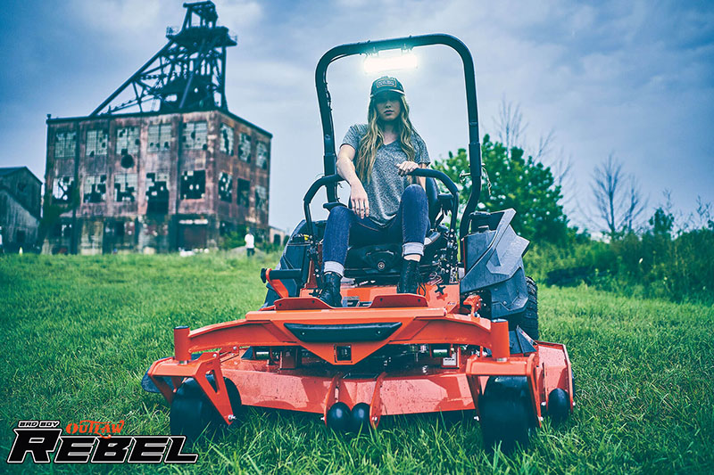 2021 Bad Boy Mowers Rebel 54 in. Yamaha 27.5 hp in Rothschild, Wisconsin - Photo 5