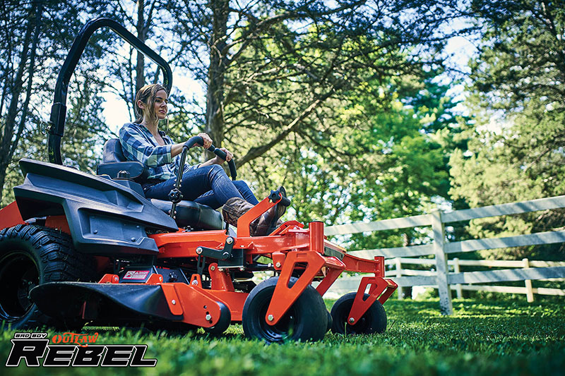 2021 Bad Boy Mowers Rebel 61 in. Kawasaki FX 27 hp in Rothschild, Wisconsin - Photo 8