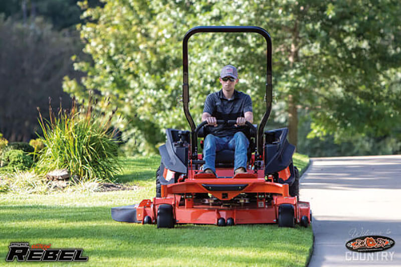 2021 Bad Boy Mowers Rebel 61 in. Kawasaki FX 35 hp in Rothschild, Wisconsin - Photo 10