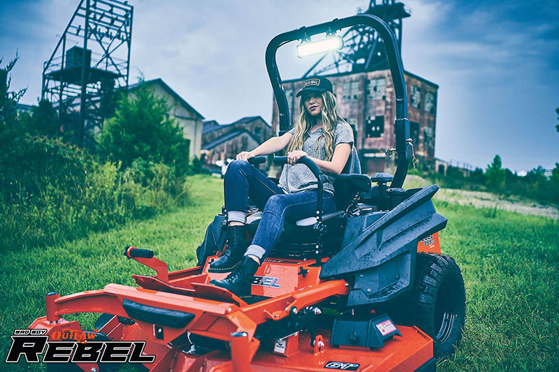 2021 Bad Boy Mowers Rebel 61 in. Kawasaki FX 35 hp in Chillicothe, Missouri - Photo 13