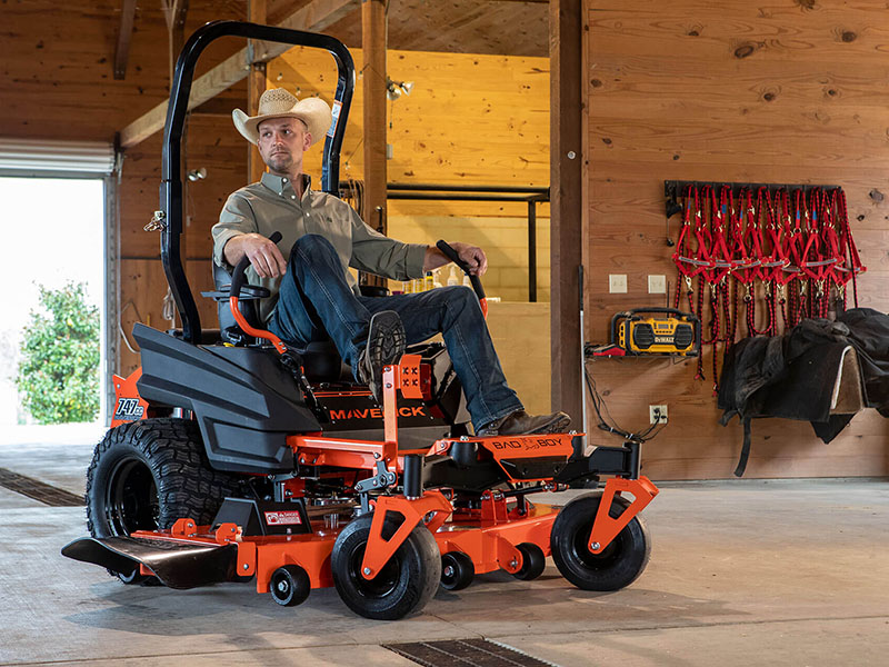 2021 Bad Boy Mowers Maverick 48 in. Honda GXV 688 cc in Saucier, Mississippi - Photo 2