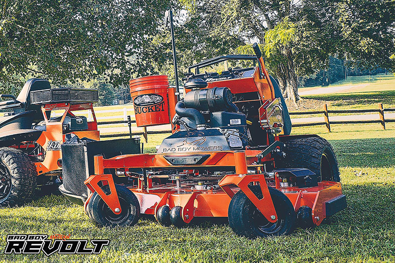 2021 Bad Boy Mowers Revolt 48 in. Kawasaki FX 23.5 hp in Valdosta, Georgia - Photo 5