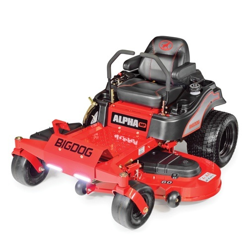 2016 Big Dog Mowers Alpha MP 60 in. in South Hutchinson, Kansas