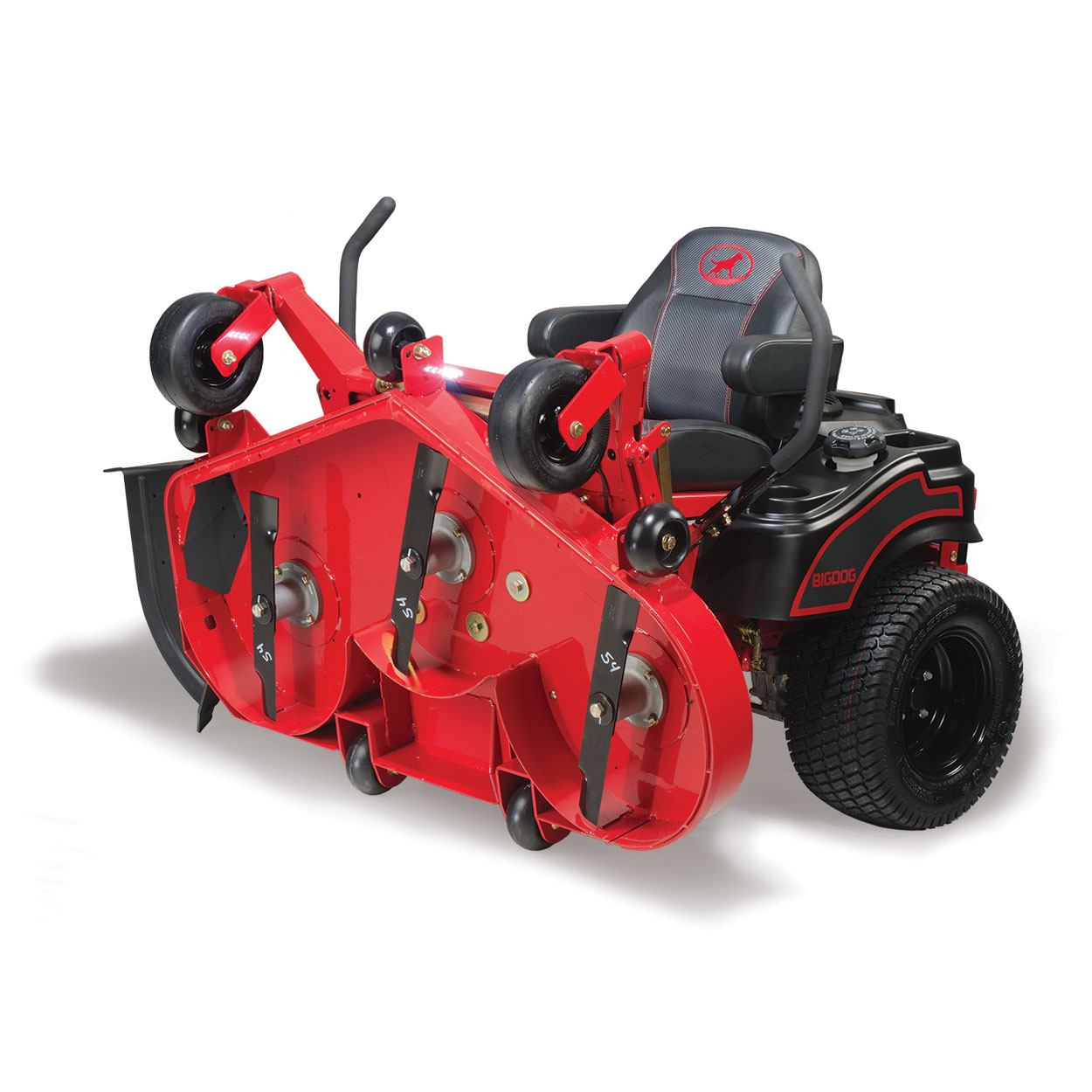 2016 Big Dog Mowers BlackJack 48 in. in Livingston, Texas