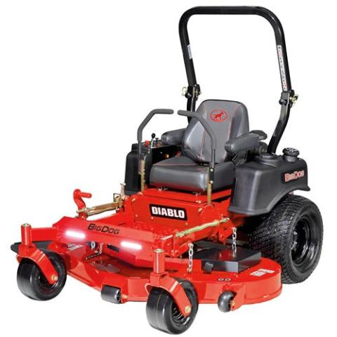 2016 Big Dog Mowers Diablo 52 in. (22 hp) in West Monroe, Louisiana