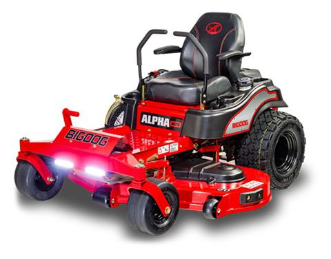 2019 Big Dog Mowers Alpha MPX 48 in. in Livingston, Texas