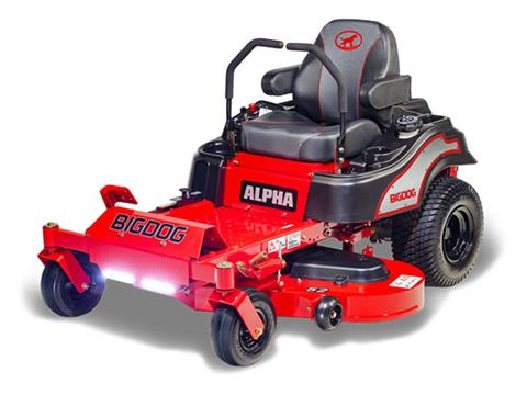 2019 Big Dog Mowers Alpha 42 in. in South Hutchinson, Kansas