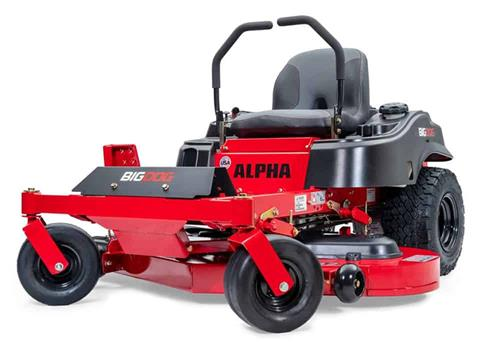 2021 Big Dog Mowers Alpha 42 in. Kawasaki FR600 18 hp in West Monroe, Louisiana - Photo 1