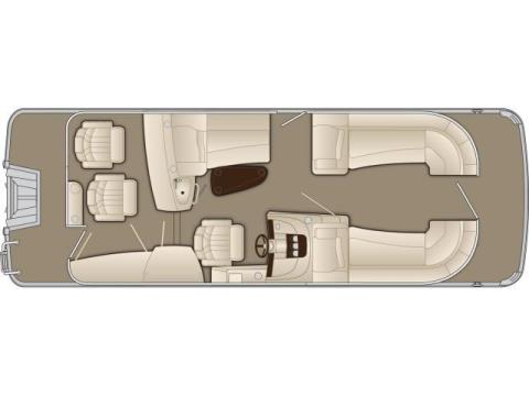 2015 Bennington 2350 RBR in Round Lake, Illinois