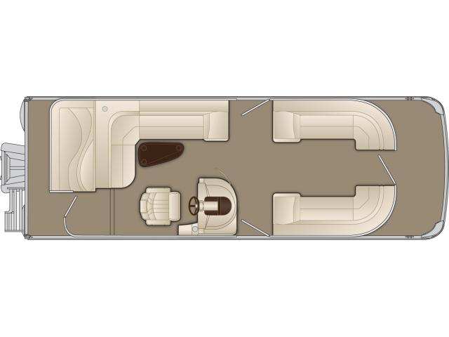 2015 Bennington 2574 GL in Round Lake, Illinois