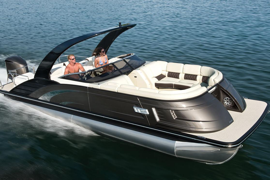 New 2018 Bennington 25 Qxcw I O Power Boats Inboard In
