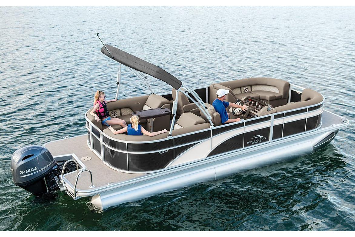 2019 Bennington SX 22 Premium Stern Radius in Superior, Wisconsin - Photo 1