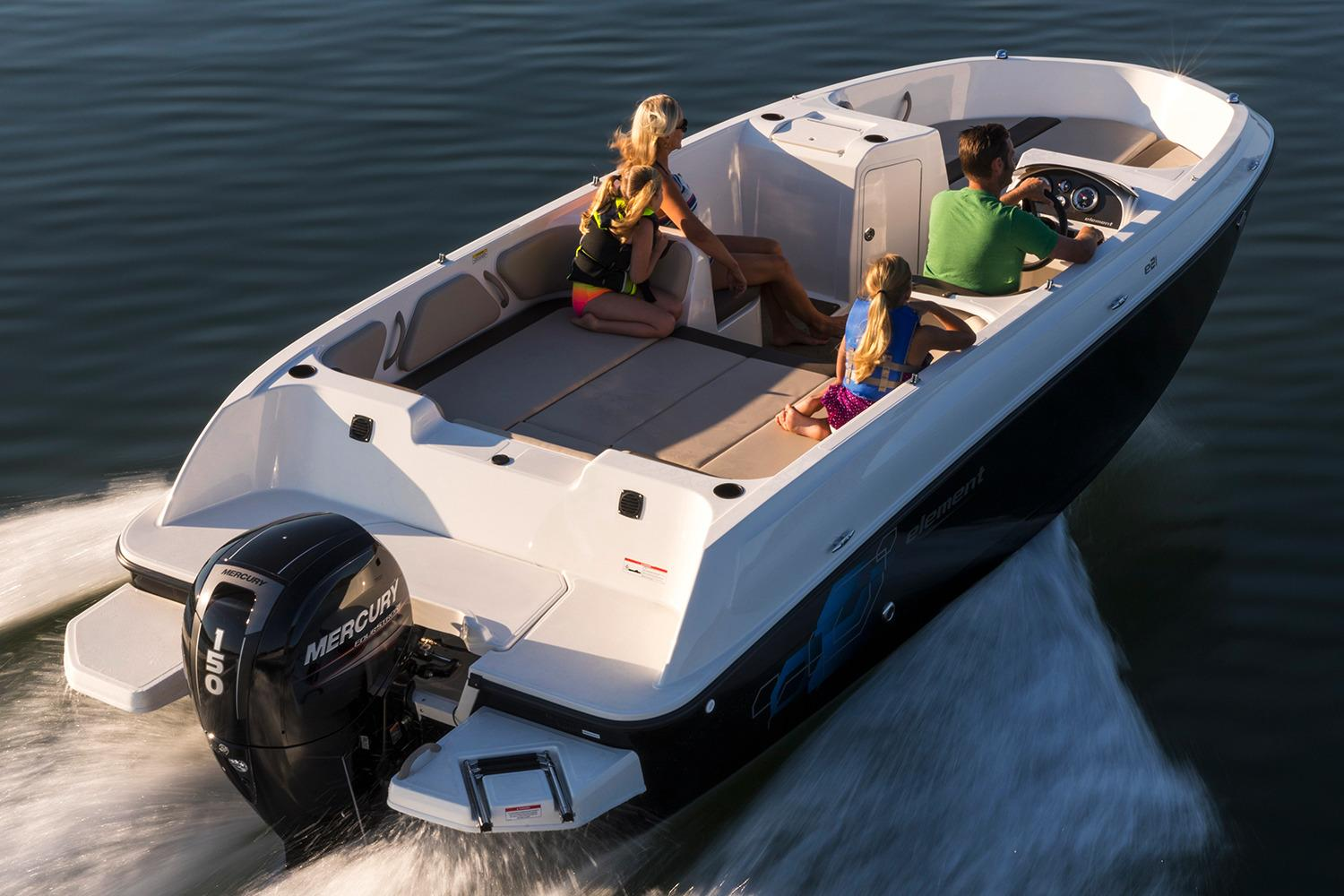New 2018 Bayliner Element E21 Power Boats Outboard in Kaukauna, WI