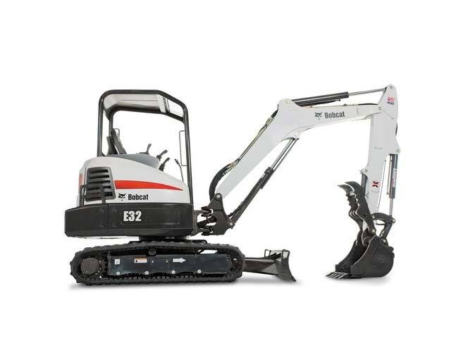 2015 Bobcat E32 T4 Long Arm Option in Fort Wayne, Indiana