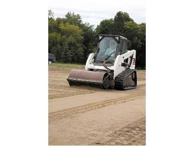 2016 Bobcat 80 in. Vibratory Roller - Smooth Drum in Fond Du Lac, Wisconsin