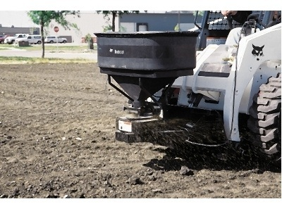 2016 Bobcat Sand and Salt Spreader - SP12 in Fort Wayne, Indiana