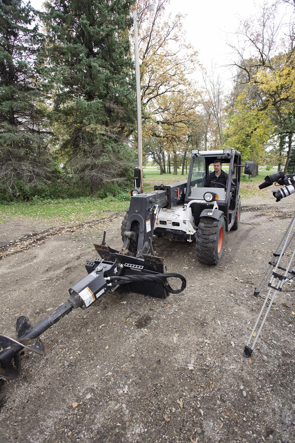 2017 Bobcat 50PH Auger in Fond Du Lac, Wisconsin