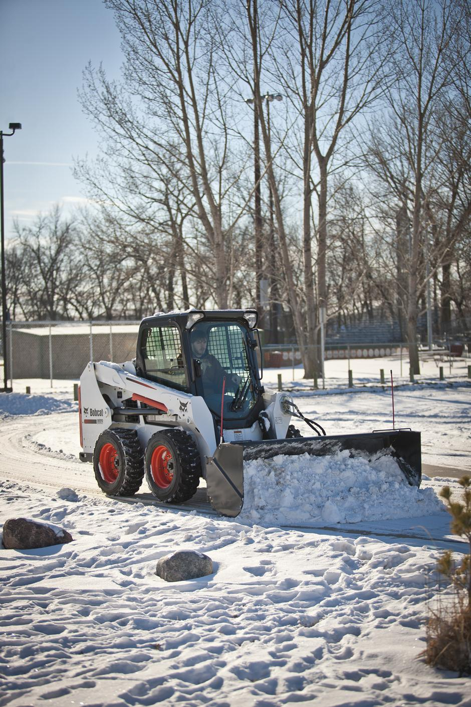 2017 Bobcat Snow Pusher, 8 ft. in Fond Du Lac, Wisconsin - Photo 6