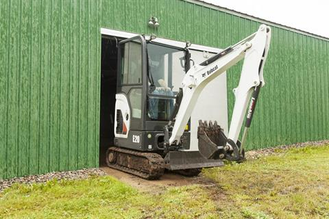 2017 Bobcat E20 in Fond Du Lac, Wisconsin - Photo 2