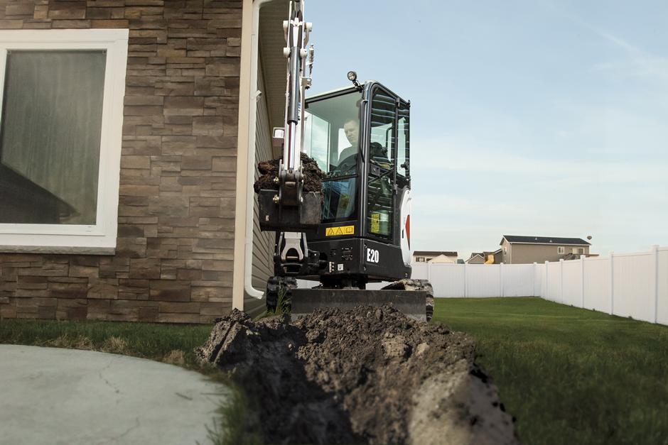 2017 Bobcat E20 in Fond Du Lac, Wisconsin - Photo 5