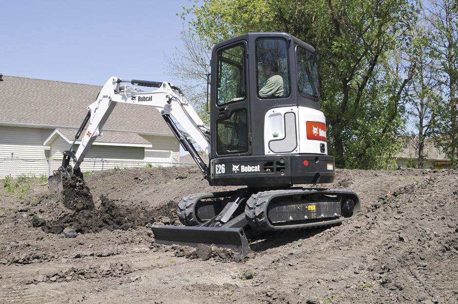 2017 Bobcat E26 T4 Long Arm in Fond Du Lac, Wisconsin