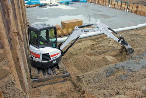 2017 Bobcat E35 T4 Long Arm in Fond Du Lac, Wisconsin - Photo 2