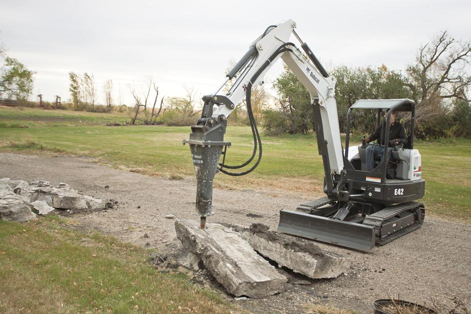 2017 Bobcat E42 T4 Extendable Arm in Fond Du Lac, Wisconsin - Photo 4