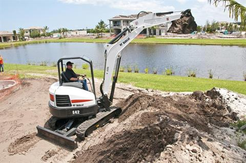 2017 Bobcat E42 T4 Extendable Arm in Fond Du Lac, Wisconsin - Photo 5