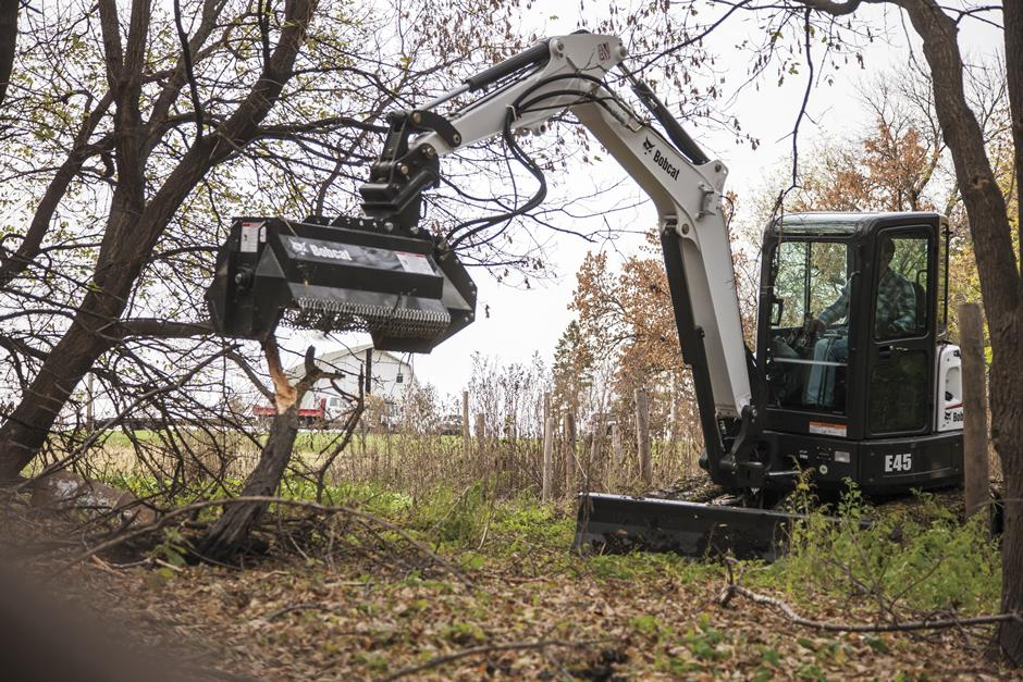 2017 Bobcat E45 T4 in Fond Du Lac, Wisconsin - Photo 6