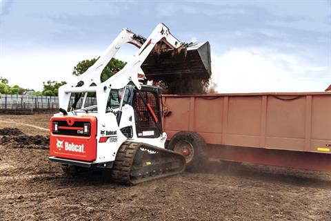 2017 Bobcat T740 in Berlin, Wisconsin