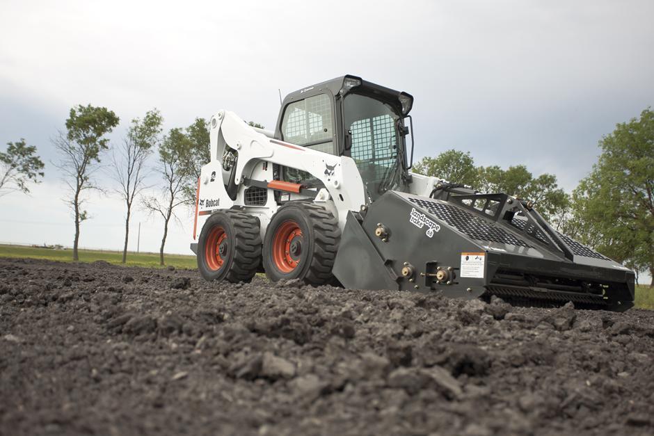 Landscape Rake For Bobcat : Bobcat landscape rake b rakes maspeth new york