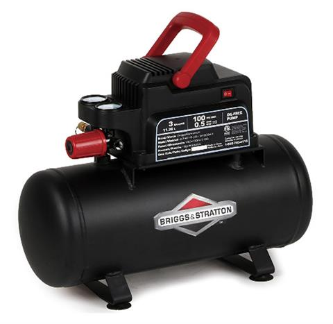 2019 Briggs & Stratton 3 Gallon Air Compressor 074015 in Lafayette, Indiana