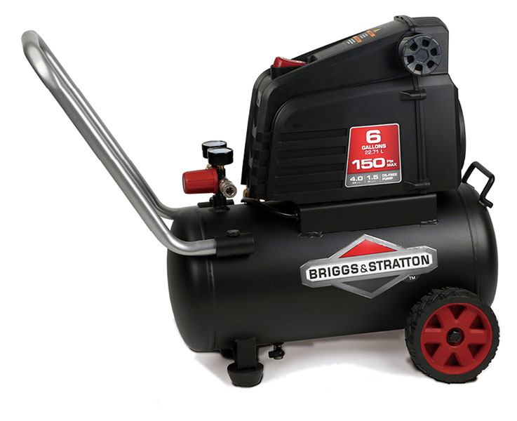 2019 Briggs & Stratton 6 Gallon Air Compressor 074024 in Prairie Du Chien, Wisconsin