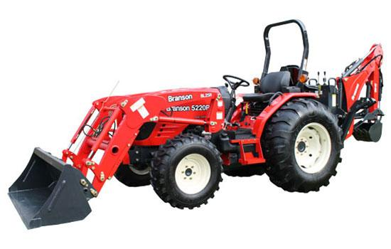 New 2018 Branson Tractors 5220R Tractors Red in Rome, GA | | Mathis