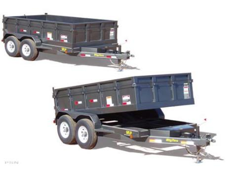 2007 Big Tex Trailers 12LP-12 Tandem Axle Low Profile Dump Trailer in Scottsbluff, Nebraska