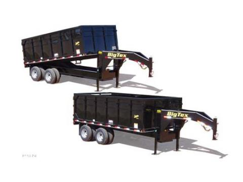 2007 Big Tex Trailers 25DU-18 Tandem Axle Dual Gooseneck Dump Trailer in Scottsbluff, Nebraska