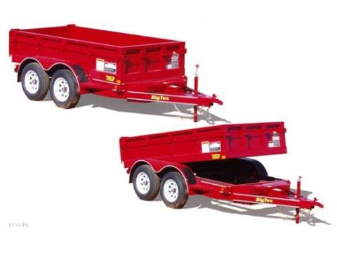 2007 Big Tex Trailers 70LP-10 Tandem Axle Low Profile Dump Trailer in Scottsbluff, Nebraska