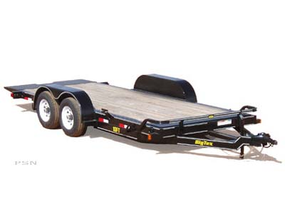 2007 Big Tex Trailers 10FT-18 Pro Series Tilt Bed Equipment Trailer in Scottsbluff, Nebraska