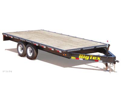 2007 Big Tex Trailers 12OA-18 Tandem Axle Over The Axle Equipment Trailer in Scottsbluff, Nebraska